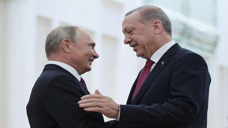 الأزمة السورية تتصدر قمة بوتين أردوغان في سوتشي