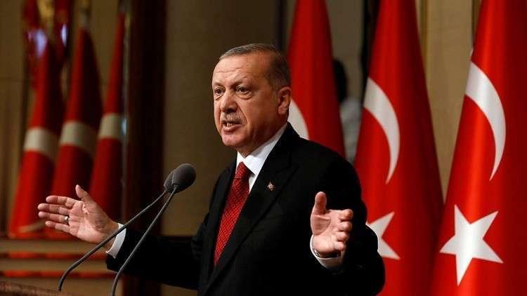 أردوغان: طائرة أمير قطر ليست هدية لي