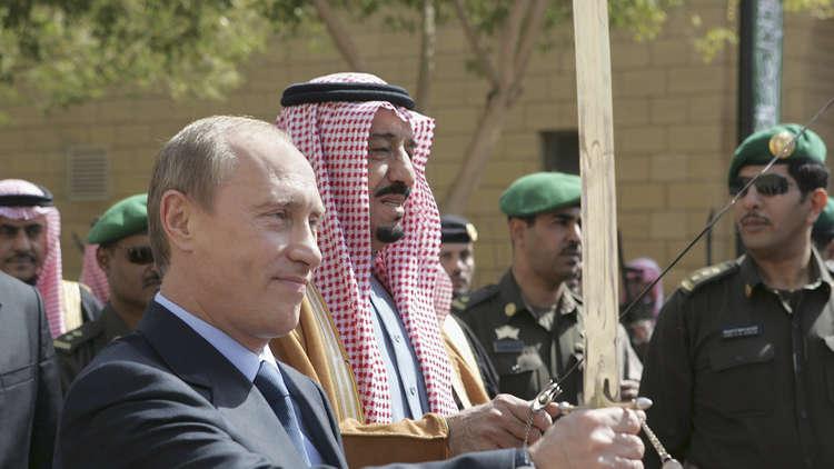 في السعودية ينتظرون بوتين