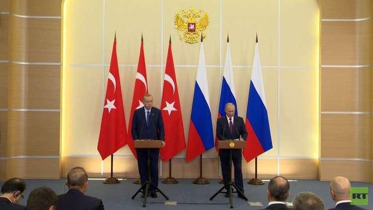 روسيا وتركيا تتفقان على منطقة منزوعة السلاح في إدلب