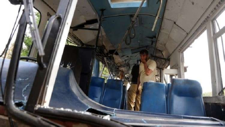 شاهد بالفيديو.. حادث اصطدام شاحنة وقود بحافلة يودي بحياة العشرات في إيران