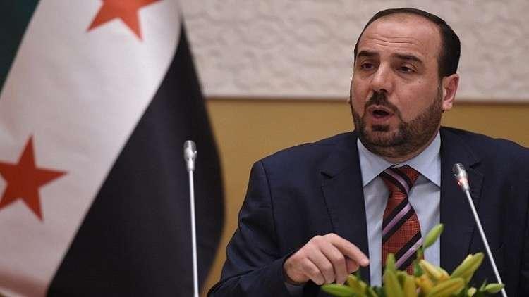 نصر الحريري يرحب باتفاق إدلب ويثمن الجهود الدبلوماسية التركية