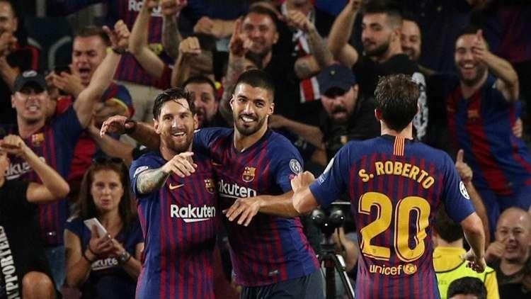 بالفيديو.. برشلونة يكتسح ضيفه آيندهوفن