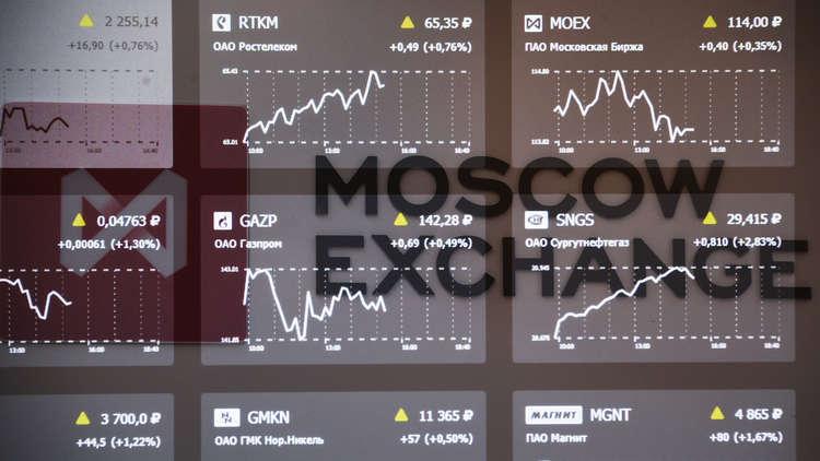 صعود قياسي للروبل وبورصة موسكو