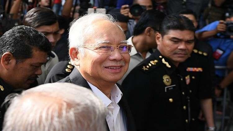 السلطات الماليزية تعيد اعتقال رئيس الوزراء السابق نجيب عبد الرزاق