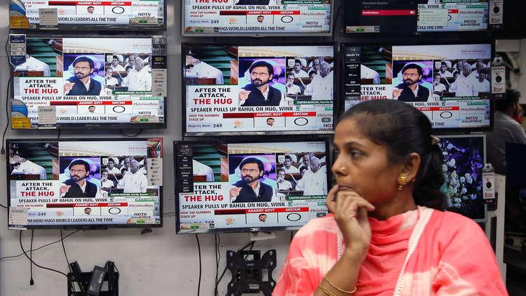 الهند وروسيا تدرسان إمكانية افتتاح قناة تلفزيونية مشتركة