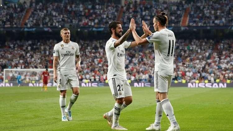 فيديو.. ريال مدريد يروض ذئاب روما
