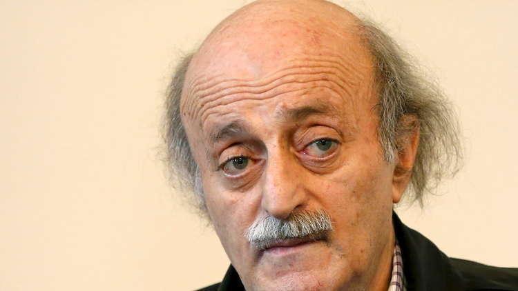 جنبلاط: أرفض زيارة وزراء التقدمي لسوريا