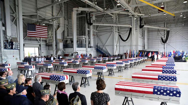 تحديد هوية رفات اثنين من العسكريين الأمريكيين استعادتهما واشنطن من كوريا الشمالية