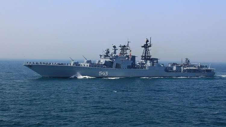السفن الروسية في المتوسط توجه صواريخها نحو إدلب