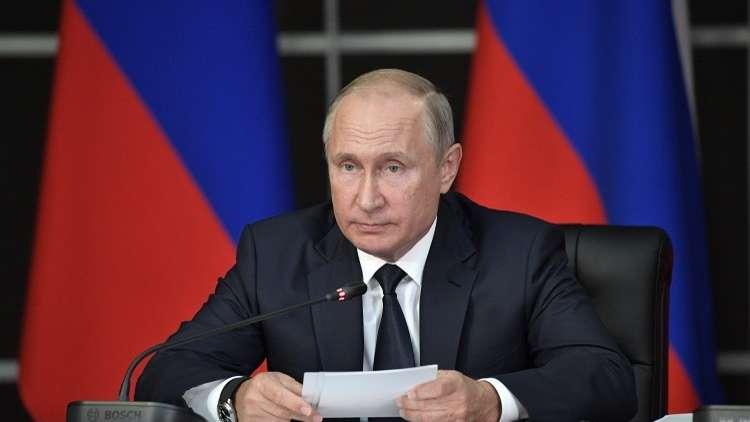 بوتين يعبر عن تعازيه لحكومة وشعب جمهورية فيتنام بوفاة رئيسها