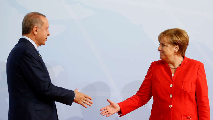 برلين تعتبر زيارة أردوغان فرصة لتطبيع العلاقات بين البلدين