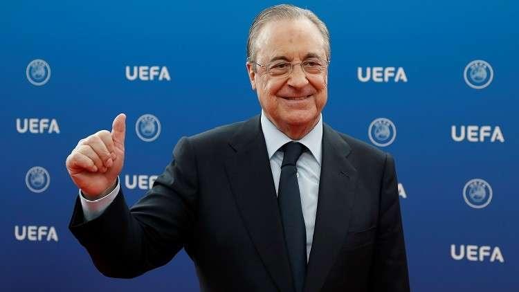 رئيس ريال مدريد يصف التخلي عن رونالدو بالقرار الأكثر جدوى