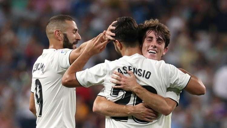 شاهد.. أسينسيو يحفظ ماء وجه ريال مدريد