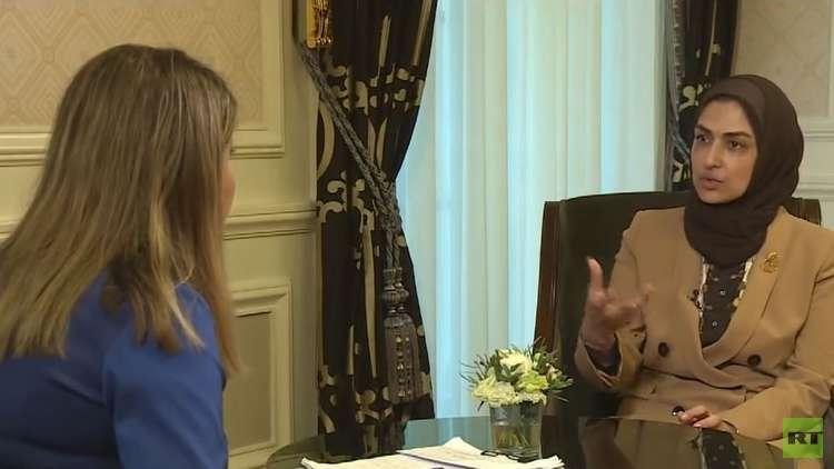 لقاء RT مع الأمين العام للمجلس الأعلى للمرأة في البحرين هالة الأنصاري