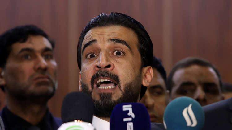 العراق.. الحلبوسي يجري مباحثات مع السفير الإيراني