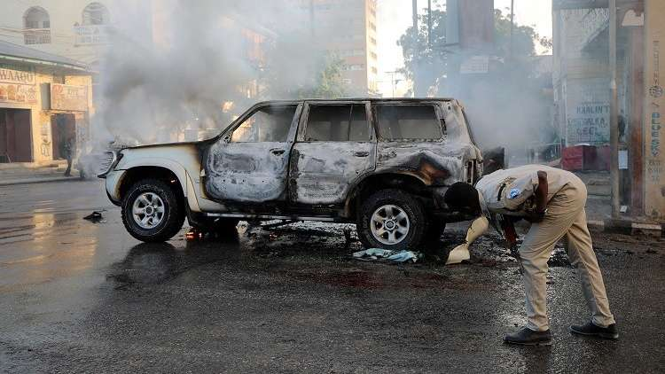 الصومال.. قتيل وجريح في انفجار سيارتين ملغومتين بالعاصمة مقديشو