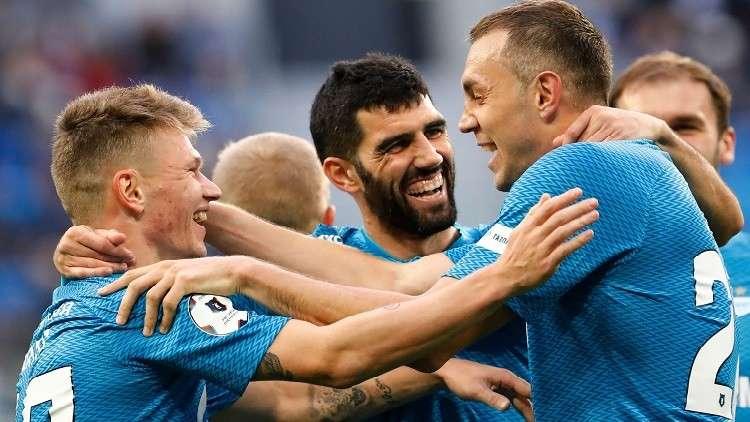 زينيت يواصل انطلاقته القوية في الدوري الروسي