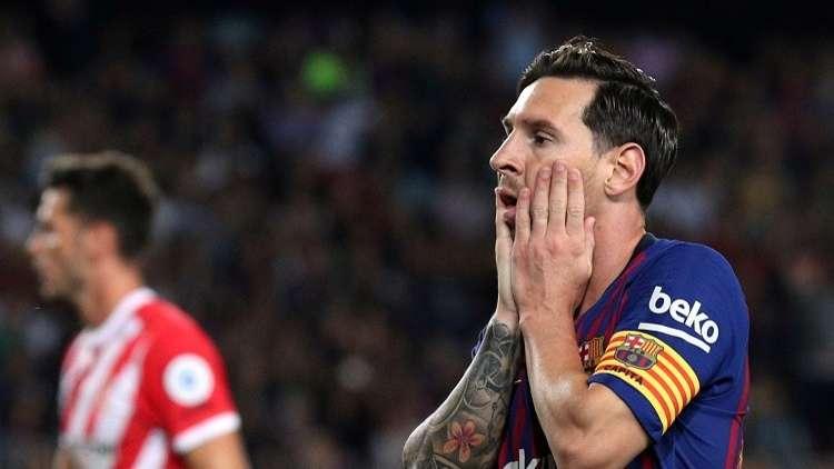 برشلونة يتعثر على أرضه وبين جماهيره (فيديو)