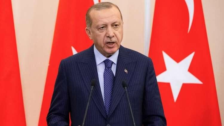 أردوغان يتهم الولايات المتحدة بمواصلة دعم المعارضة الكردية في سوريا