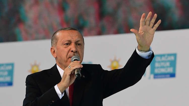 أردوغان: تركيا لن تسمح بتشكيلات إرهابية على حدودها