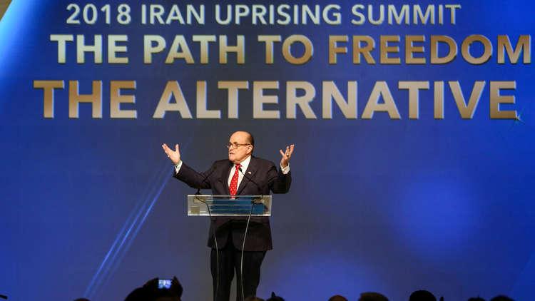 محامي ترامب: لا بد من إسقاط حكومة إيران وعليها أن تخشى ذلك!