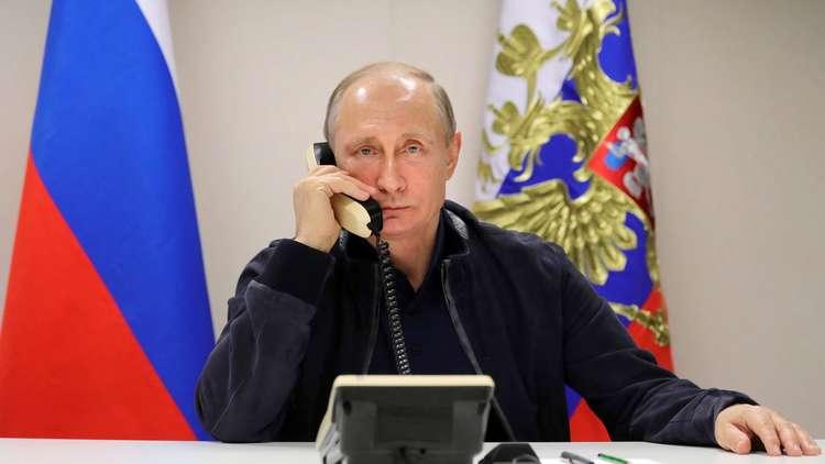 بوتين يطلع الأسد هاتفيا على تدابير الرد الروسي على حادثة