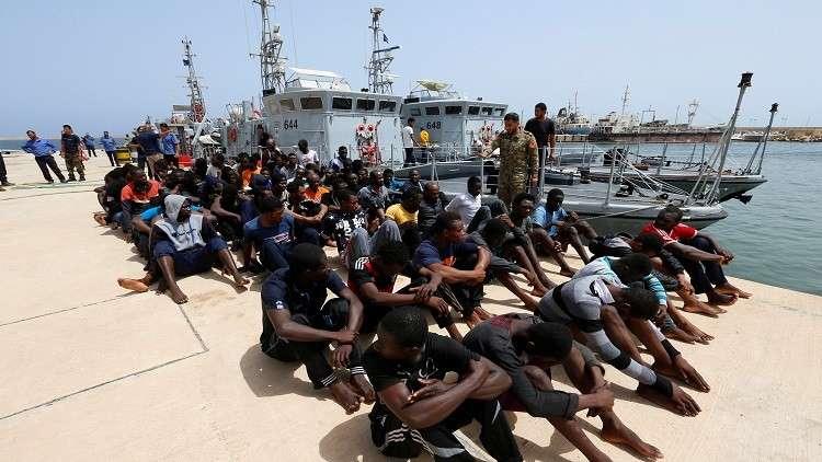 خفر السواحل الليبي ينقذ 235 مهاجرا