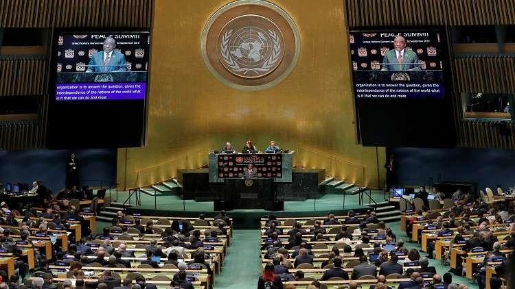 روسيا تنوي طرح مشروع قرار ضد سباق التسلح في الفضاء على الجمعية العامة