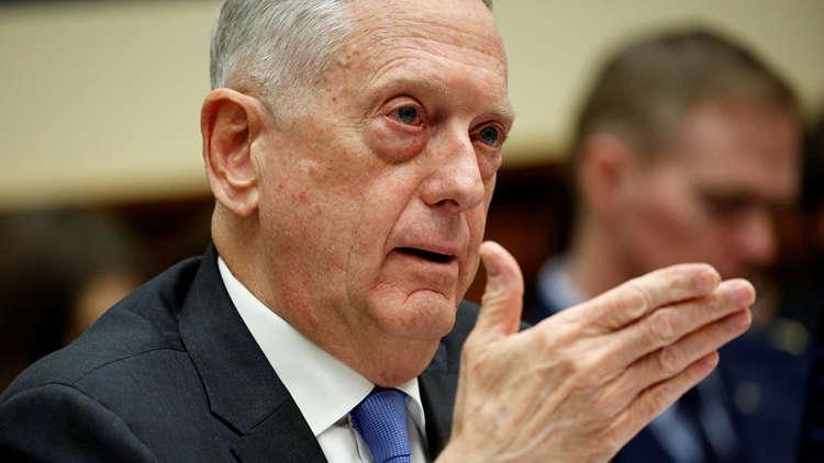 ماتيس: تهديدات إيران لا تقلقني