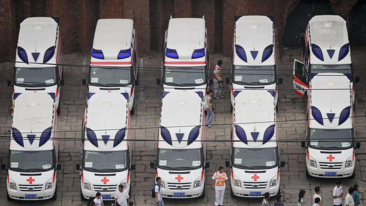 الصين تتبرع بـ50 سيارة إسعاف لأوكرانيا