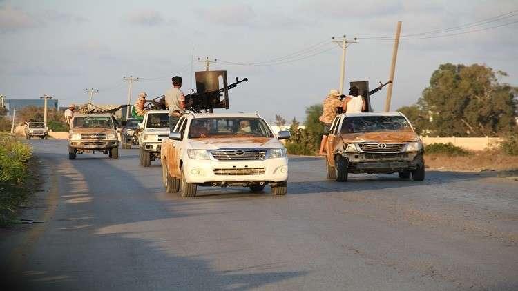 بدء سحب التشكيلات المسلحة من جنوب طرابلس الغرب