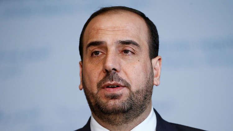 نصر الحريري والرئيس الفرنسي يتفقان على ضرورة تجنيب إدلب أي عمل عسكري