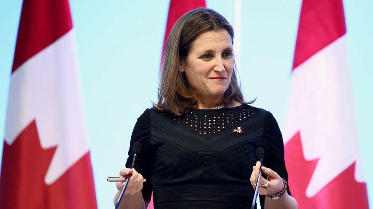 وزيرة خارجية كندا تأمل بلقاء نظيرها السعودي في نيويورك