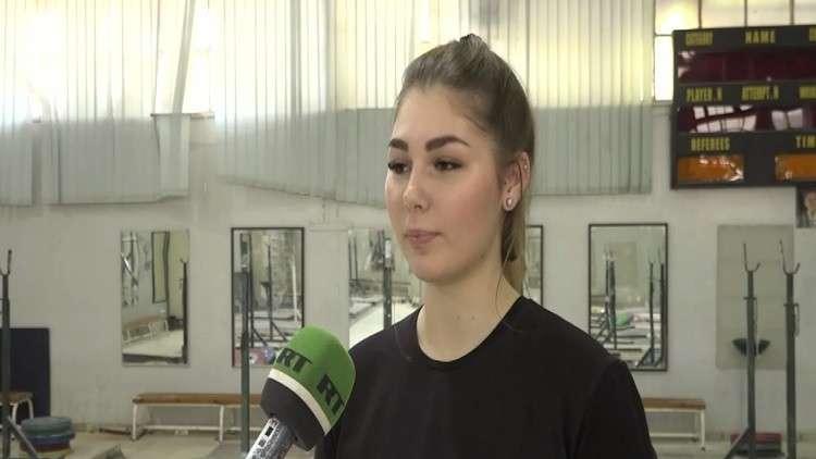 البطلة ناوموفا تشارك ببطولة في سوريا