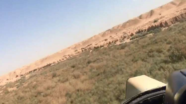 فيديو جديد لغارات سلاح الجو العراقي على مواقع داعش