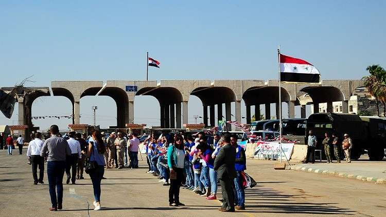 استعدادات لفتح معبر نصيب الحدودي بين سوريا والأردن (أرشيف)