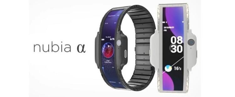 ساعة ذكية بشاشة مرنة.. من Nubia