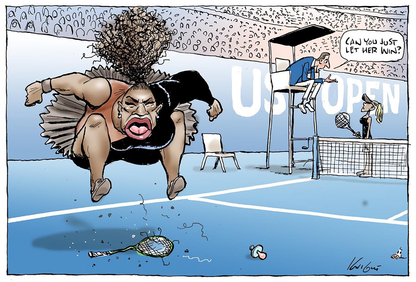 جدل حول كاريكاتير