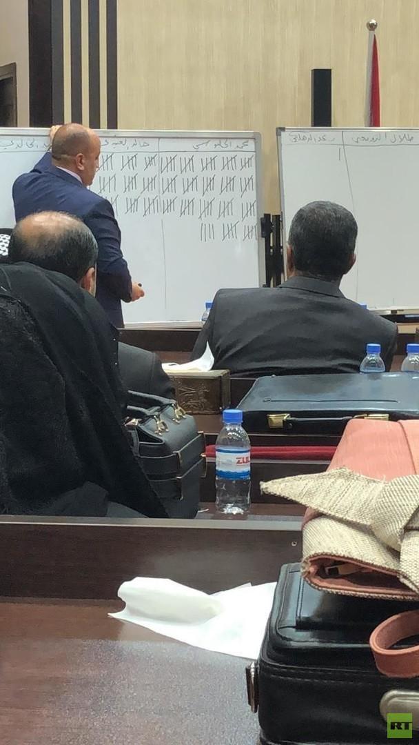 البرلمان العراقي يحسم الجدل وينتخب محمد الحلبوسي رئيسا لدورته الرابعة