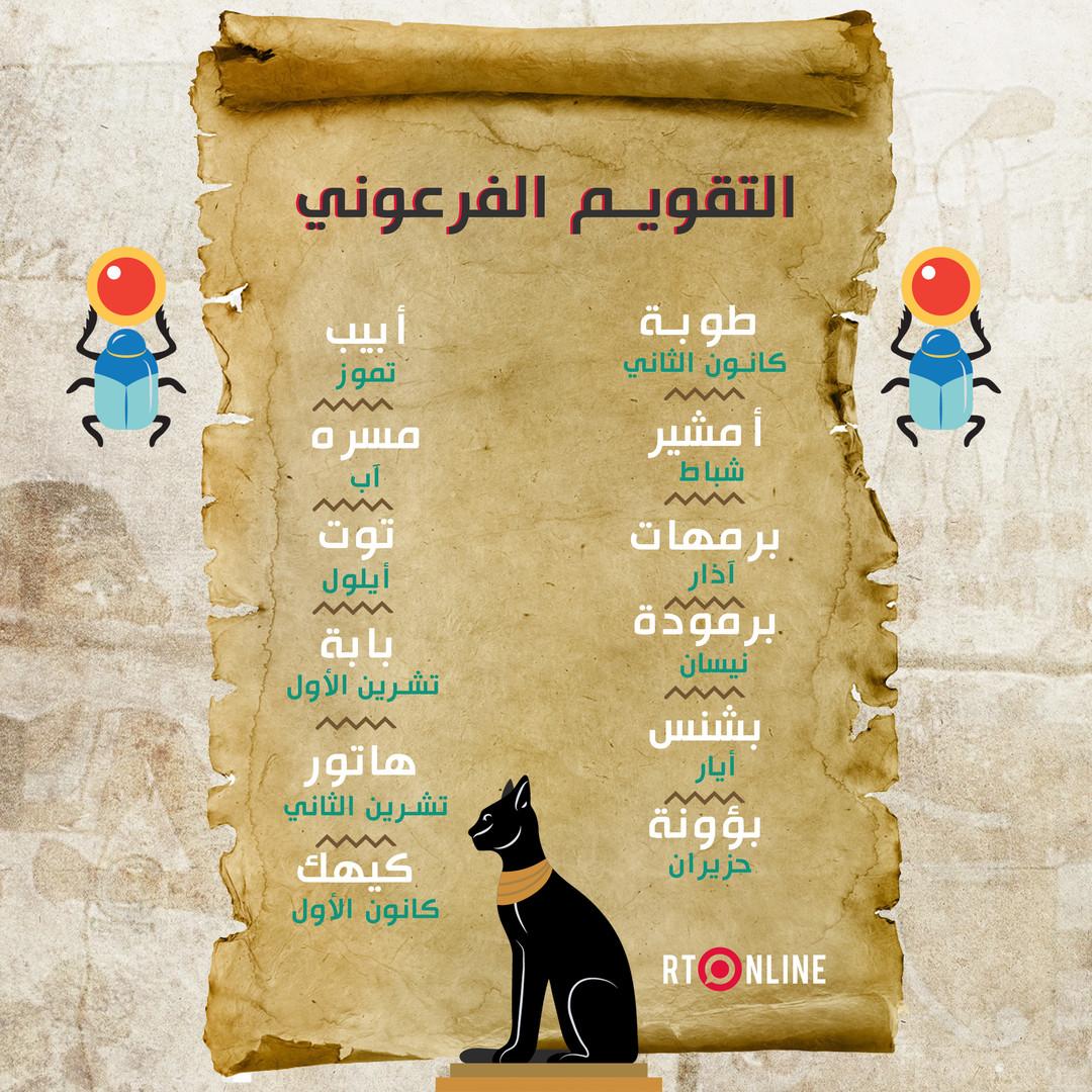 التقويم الفرعوني