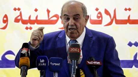 رئيس ائتلاف الوطنية العراقي أياد علاوي (صورة أرشيفية)