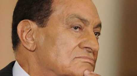 الرئيس المصري الأسبق، حسني مبارك