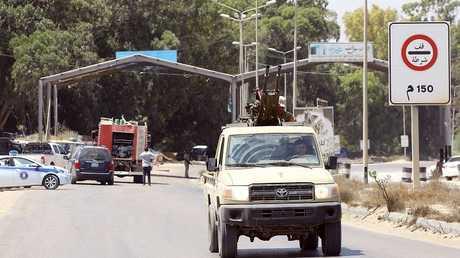 قوات الأمن الليبي في طرابلس - أرشيف