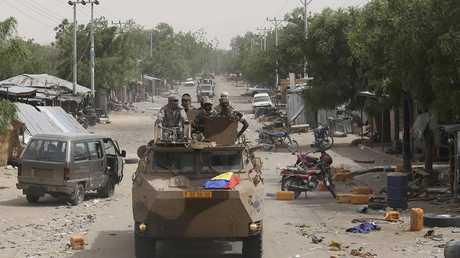 دورية تابعة للجيش النيجيري - أرشيف