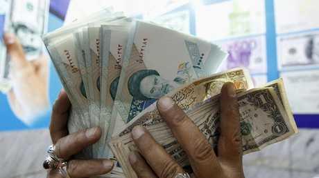 العملة الإيرانية - أرشيف