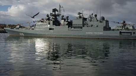 سفينة حربية روسية - ارشيف