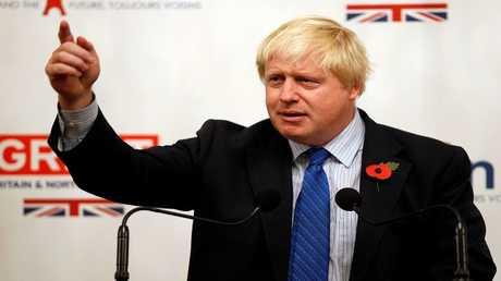 وزير الخارجية البريطاني السابق، بوريس جونسون