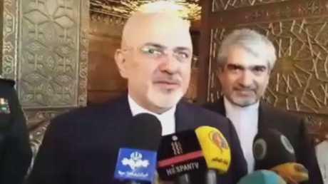 ظريف: يجب تطهير إدلب من بقايا الإرهابيين