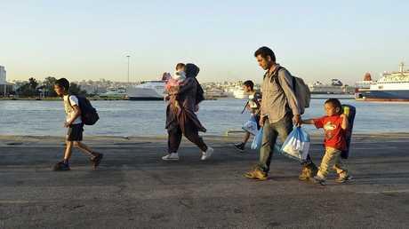 المهاجرون السوريون - أرشيف